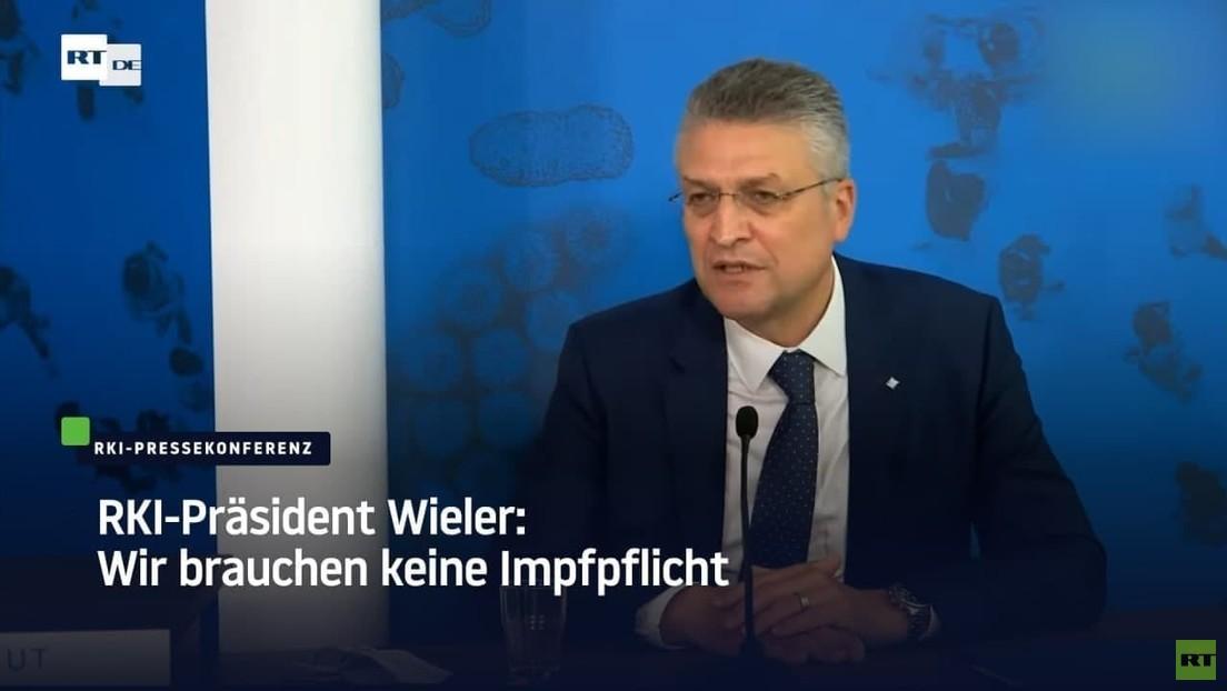 RKI-Präsident Wieler: Wir brauchen keine Impfpflicht
