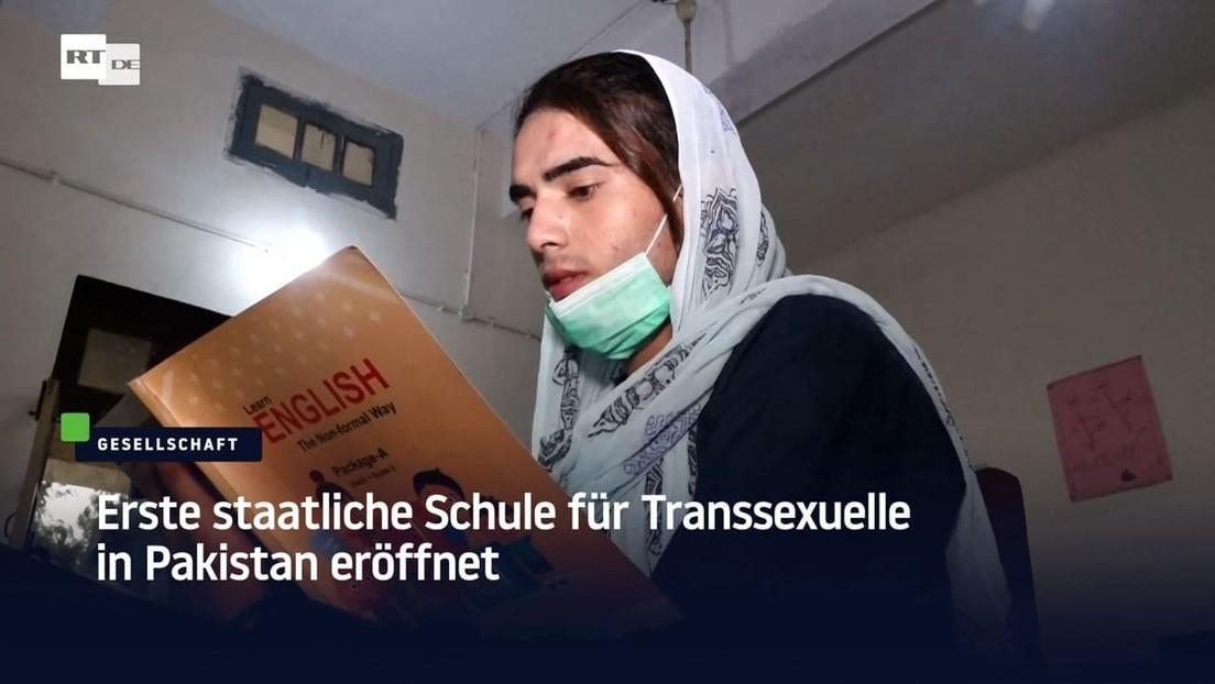 Erste staatlich betriebene Schule für Transsexuelle in Pakistan eröffnet