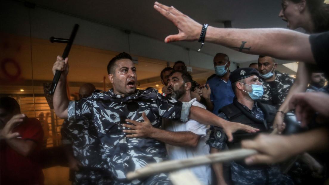 Straßenschlachten in Beirut: Volk will Antworten nach Explosion