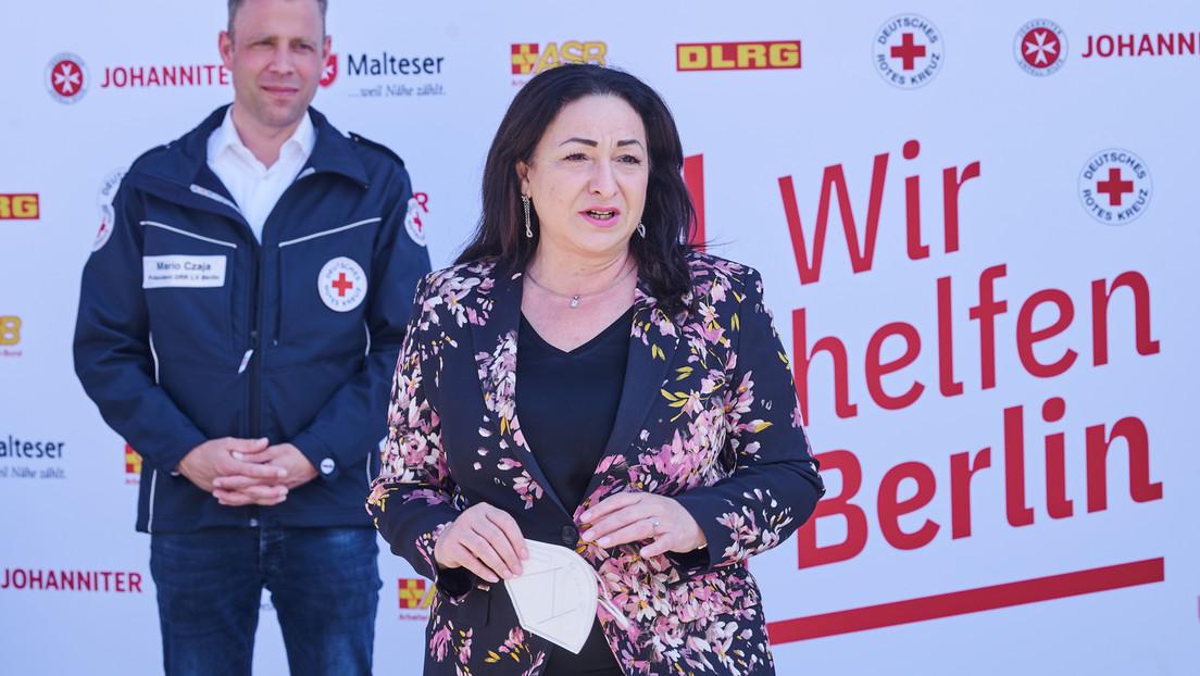 """Berliner Gesundheitssenatorin: Debatte um Impfpflicht """"noch verfrüht"""""""