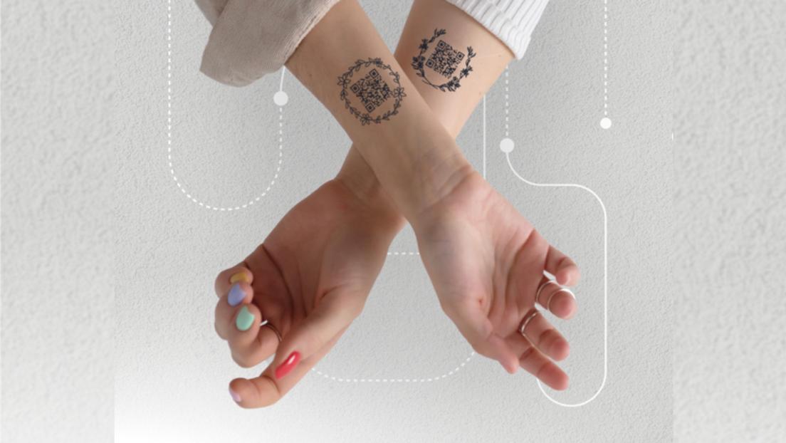 Moskau: Restaurantbesuch für Geimpfte nun auch mit QR-Code-Tattoo möglich