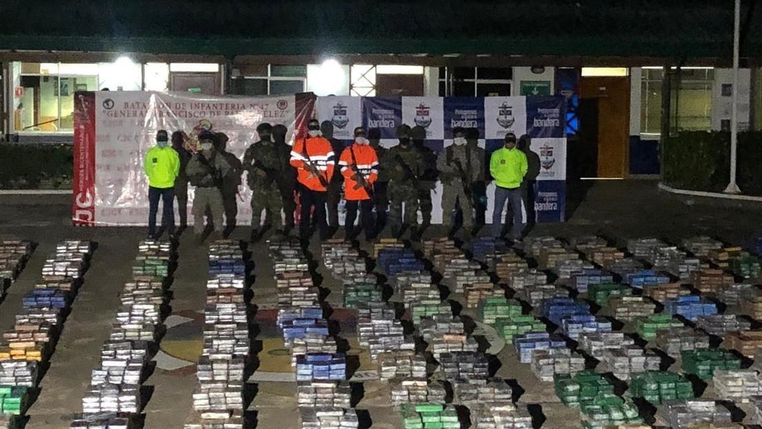 Kolumbianische Marine beschlagnahmt 5,4 Tonnen Kokain im Wert von 185 Millionen US-Dollar