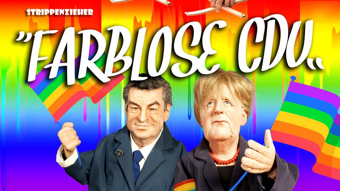 Farblose CDU | Jetzt wird mit dem Regenbogen abgerechnet | Strippenzieher