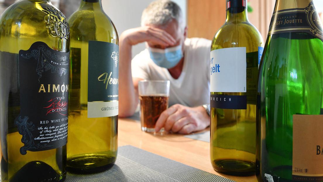 Deutlich mehr Tote durch Alkohol in Großbritannien während COVID-19-Pandemie