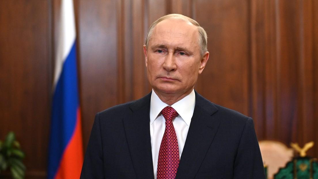 Putin spricht Merkel und Steinmeier sein Beileid im Zusammenhang mit Flutopfern aus