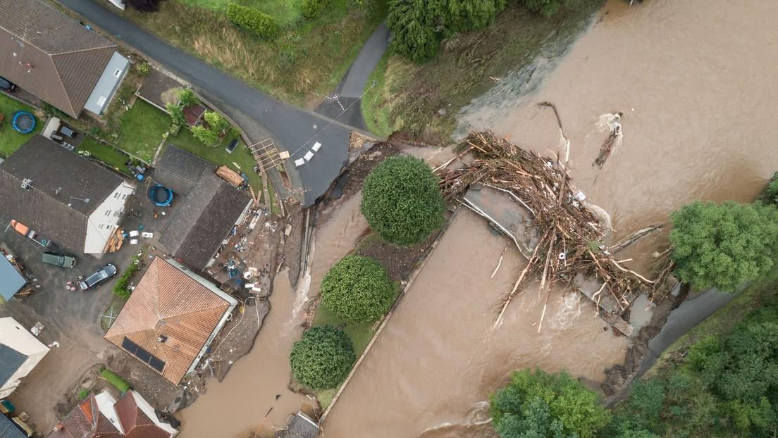 Nach der schweren Hochwasserkatastrophe: 1.300 Vermisste im Kreis Bad Neuenahr-Ahrweiler