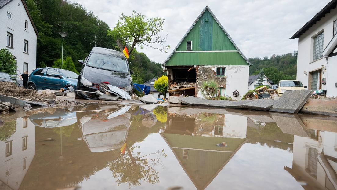 Hochwasser: Zahl der Toten steigt auf über 90 – Kanzlerin Merkel verspricht Hilfen für Wiederaufbau