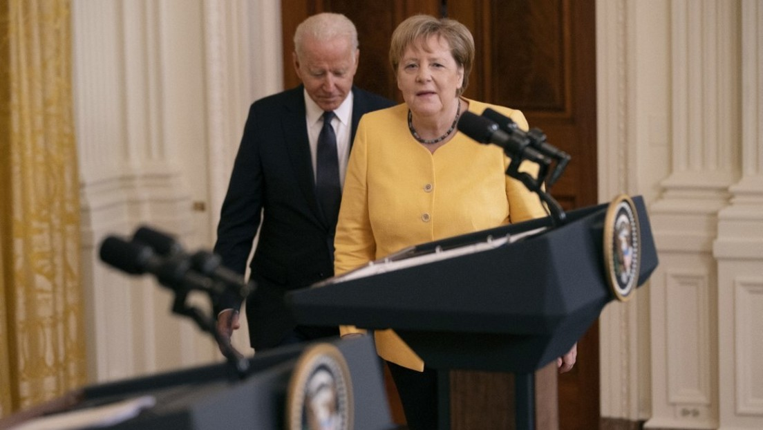 """Merkel: Ukraine muss Transitland für Gas bleiben – sonst werden wir """"aktiv handeln"""""""