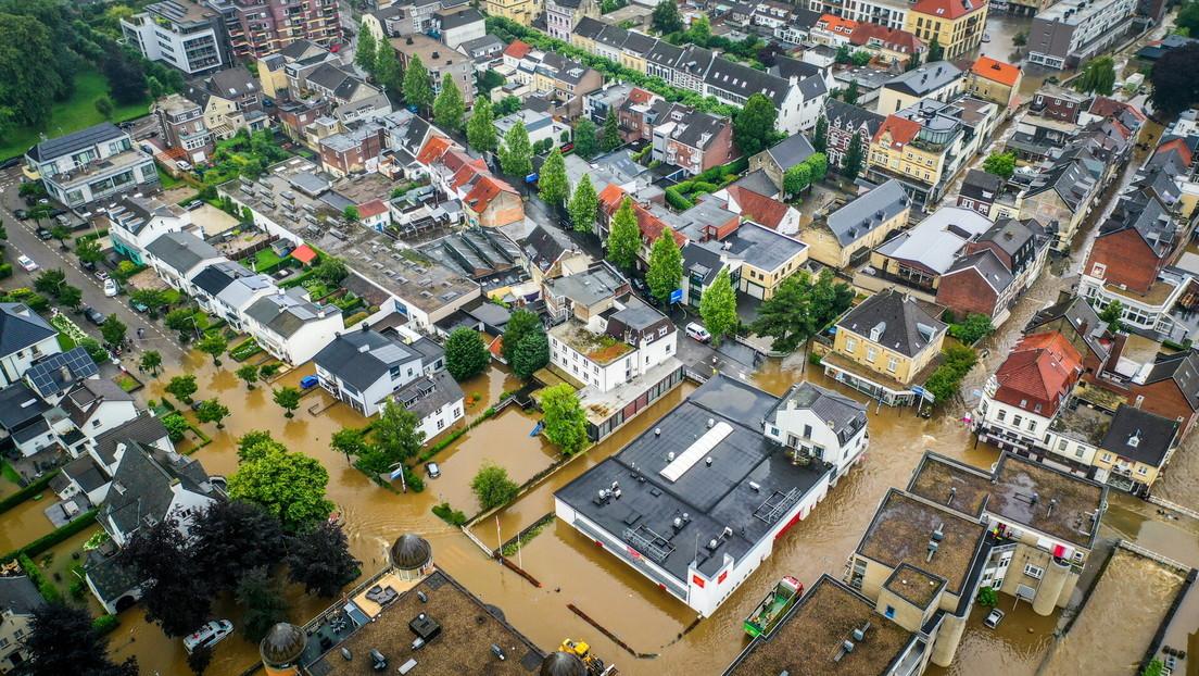 Niederländische Provinz Limburg unter Wasser – Tausende werden evakuiert