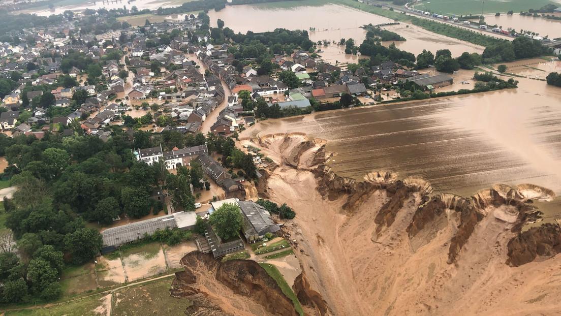 AKK löst militärischen Katastrophenalarm aus – Dramatische Lage in Erftstadt nach Erdrutsch