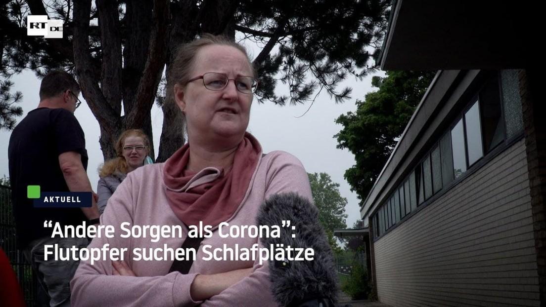 """Andere Sorgen als Corona"" – Flutopfer müssen Leben neu organisieren"
