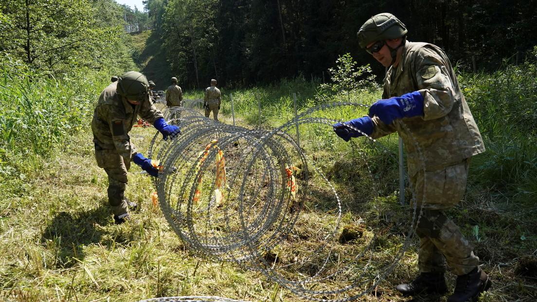 BMI-Sprecher: Deutschland stockt Litauens Grenzschutz mit zehn Polizisten auf