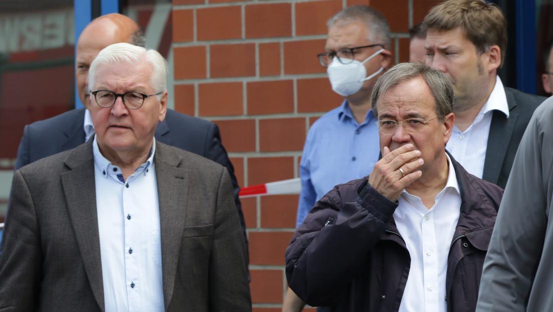 """Steinmeier im Katastrophengebiet: """"Vielen Menschen ist nichts außer Hoffnung geblieben"""""""