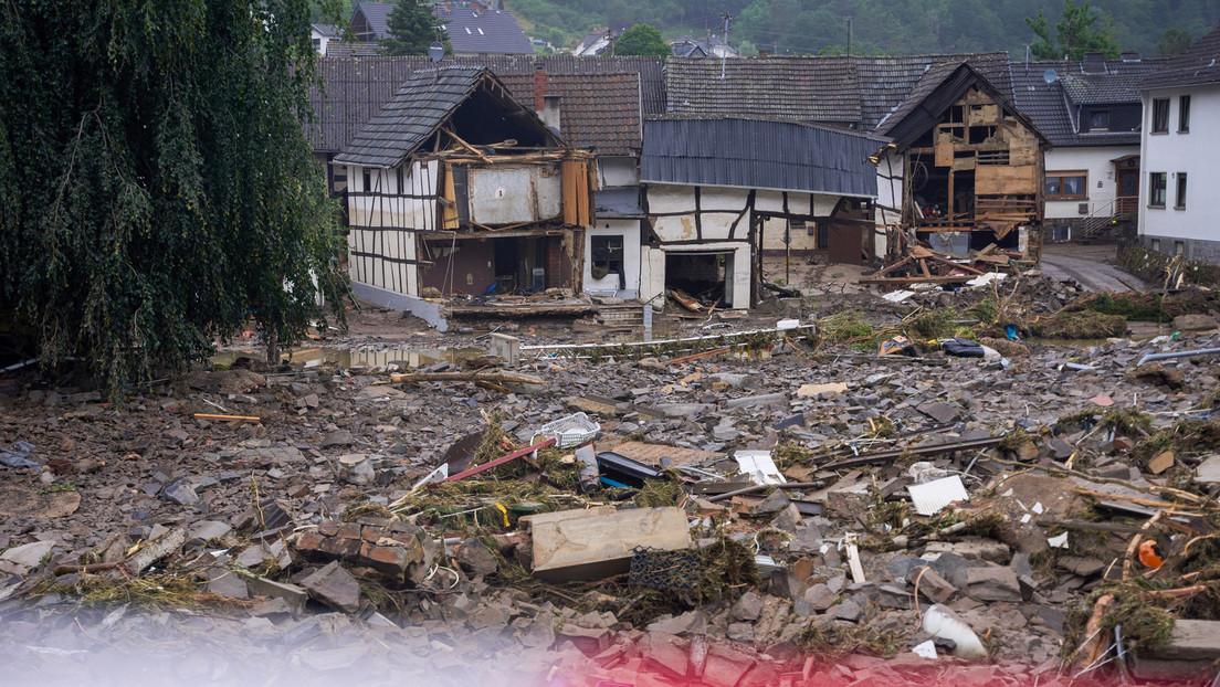 Flutkatastrophe: Wasserrückzug legt Schäden offen – Todeszahl steigt auf 143