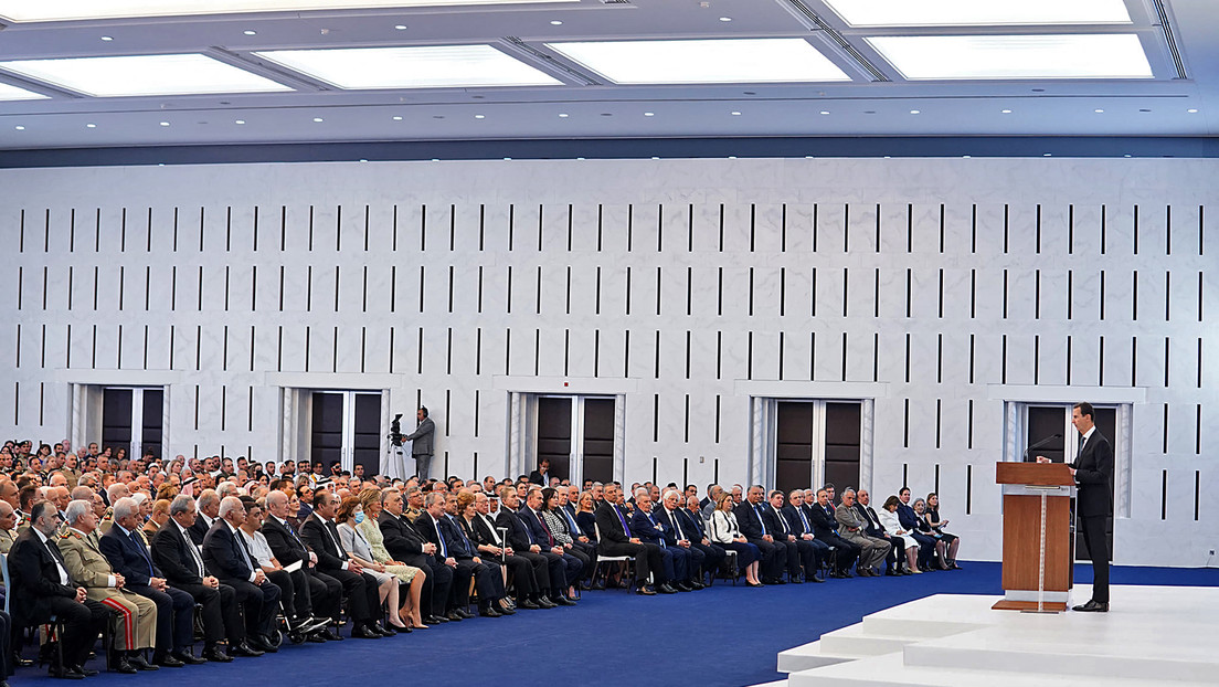 Präsident Assad verspricht bei Vereidigung Bekämpfung westlicher Sanktionen