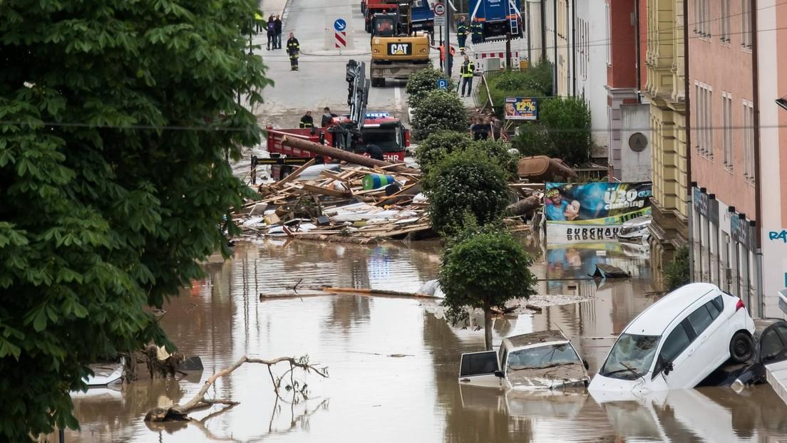 Inzwischen 156 Flutopfer – Hochwasser auch in Bayern, Sachsen und Österreich