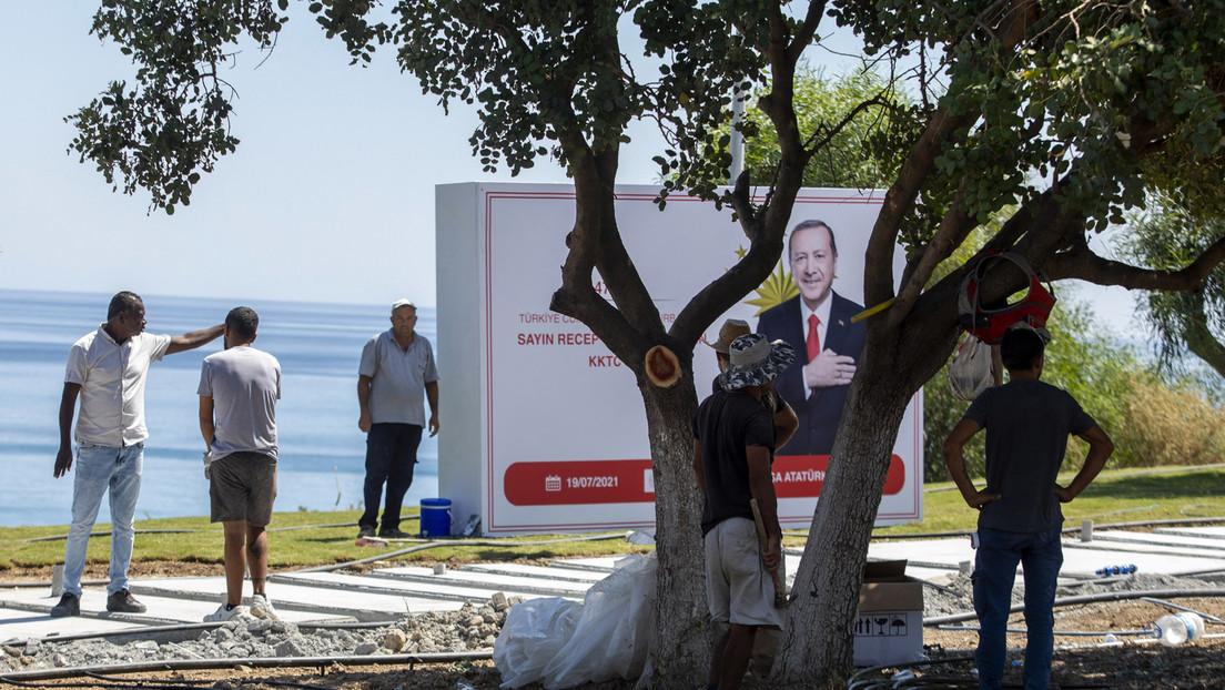 Inmitten der Spannungen mit der EU: Erdoğan besucht Nordzypern