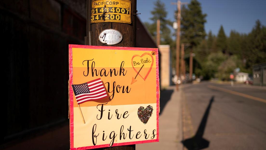 70 Großbrände in den USA erfassen mehr als 4.000 Quadratkilometer