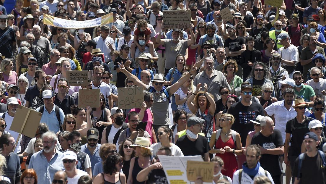 """""""Absolut abscheulich"""" – Empörung in Frankreich nach Nazi-Vergleichen bei Protesten"""