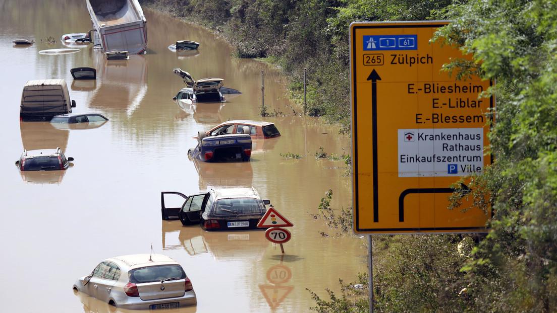 Nach den Fluten: Öl und Diesel verschmutzen Gewässer in Nordrhein-Westfalen