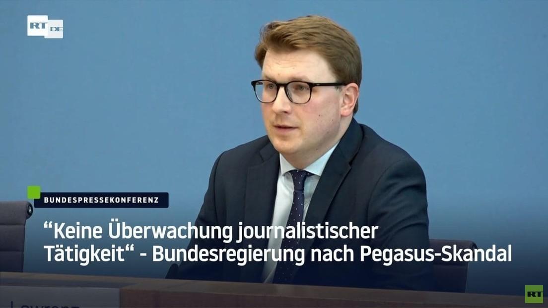 """""""Keine Überwachung journalistischer Tätigkeit"""" – Bundesregierung nach Pegasus-Skandal"""