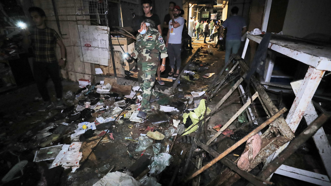Irak: 25 Tote bei Terroranschlag auf Markt in Bagdad