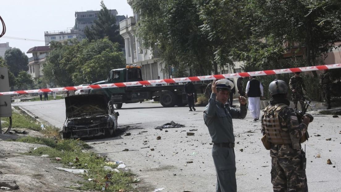 Während Zeremonie: Raketen schlagen nahe Präsidentenpalast in Afghanistan ein