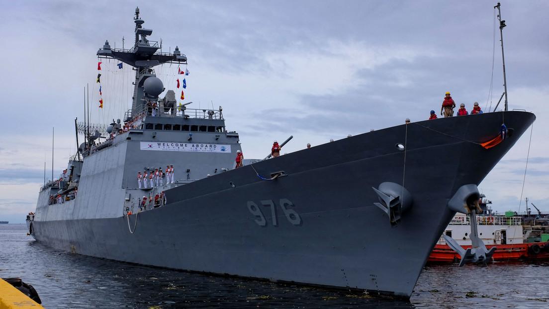 Südkorea: Mehr als 80 Prozent der Besatzung eines Kriegsschiffs positiv auf Corona getestet