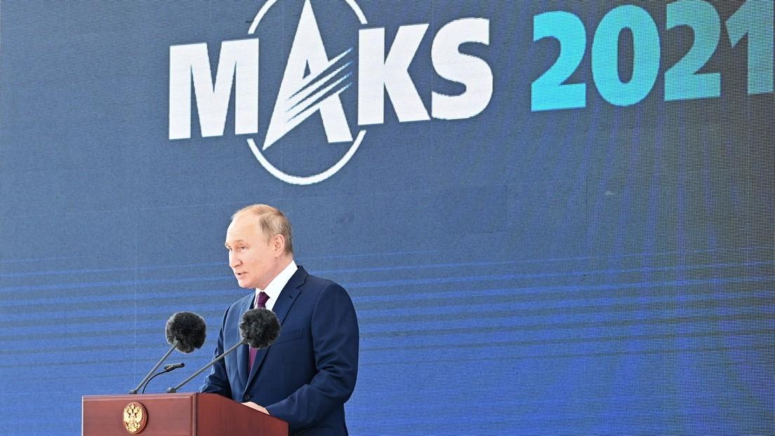 Putin: Zukunft der Luftfahrt liegt in Künstlicher Intelligenz und Drohnen