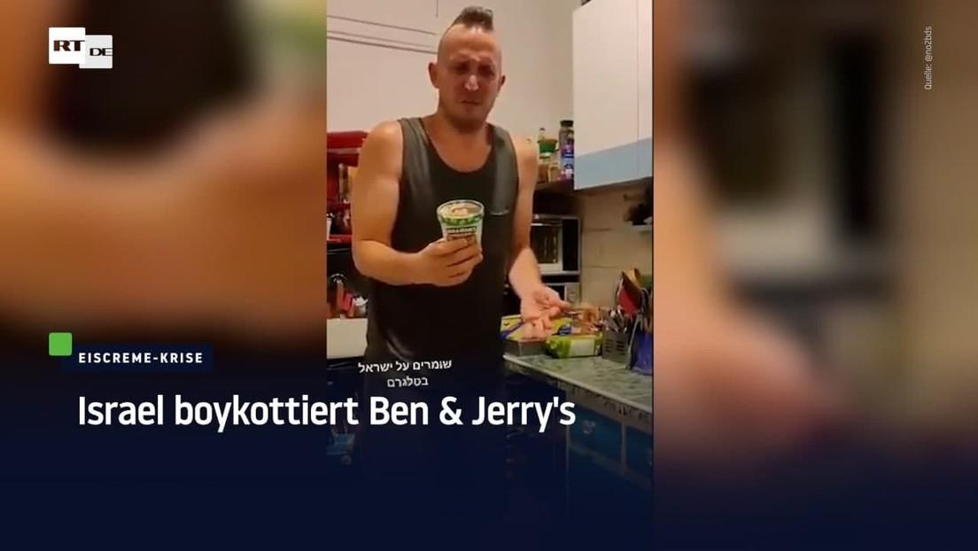 """Israel boykottiert Ben & Jerry's – """"antiisraelisch und antijüdisch"""""""