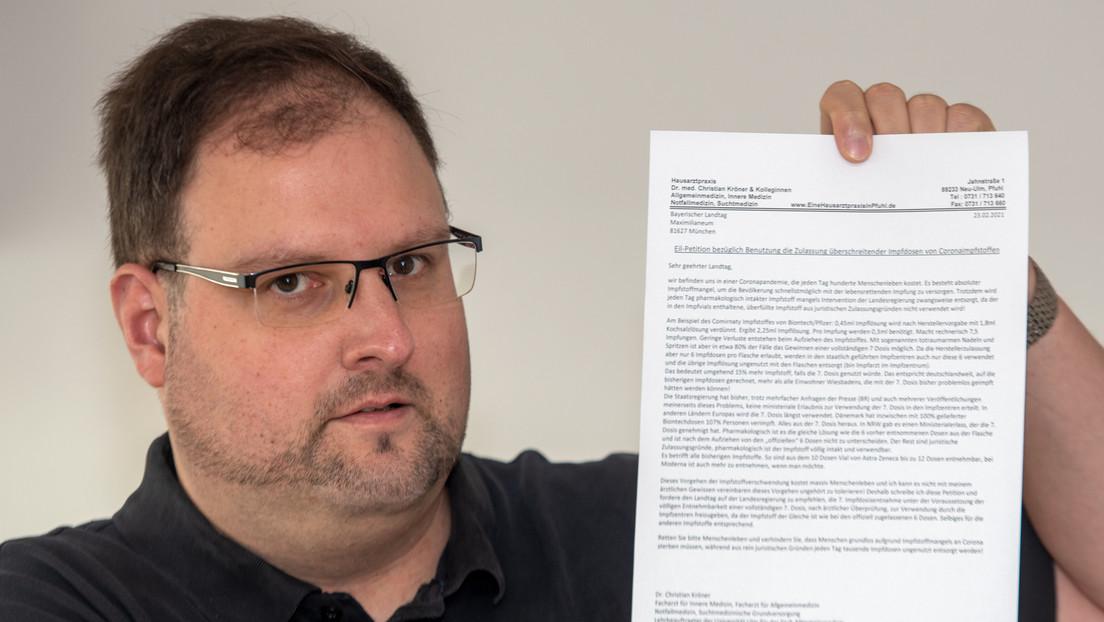 """BioNTech-Impfungen von Neu-Ulmer """"Impfluencer""""-Hausarzt waren wahrscheinlich wirkungslos"""