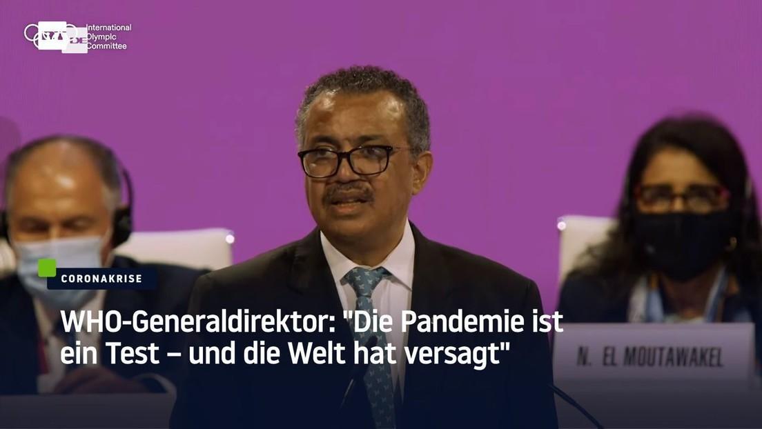 """WHO-Chef: """"Die Pandemie ist ein Test – und die Welt hat versagt"""""""