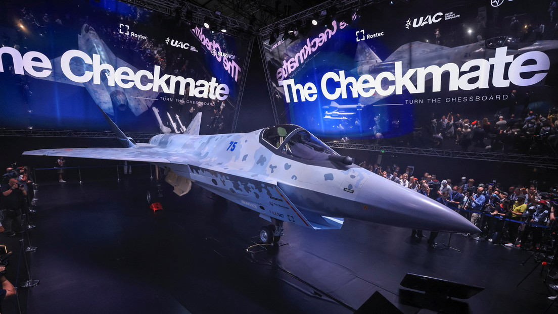 """""""Schachmatt"""": Russland stellt neuen Kampfjet der fünften Generation vor"""
