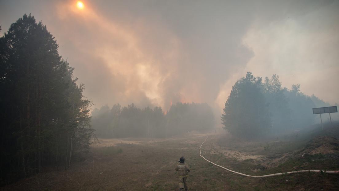 Waldbrände wüten im Fernen Osten Russlands