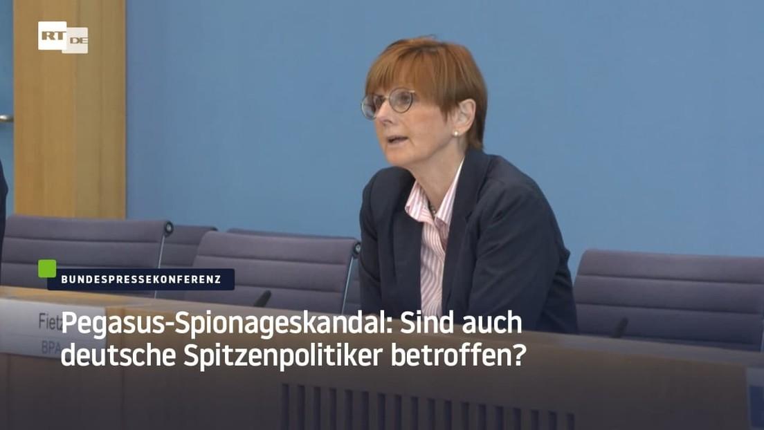 """Bundesregierung und """"Pegasus"""" – zur Kenntnis genommen und beschwiegen"""