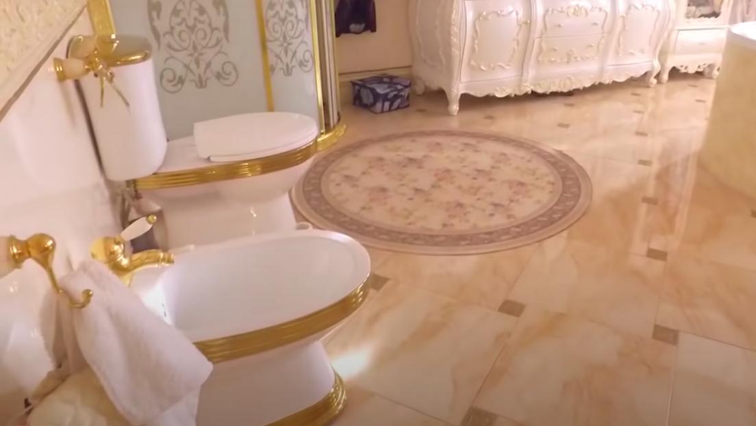 """""""Villa mit goldener Toilette"""": Oberst der Verkehrspolizei in Südrussland festgenommen (Fotos)"""