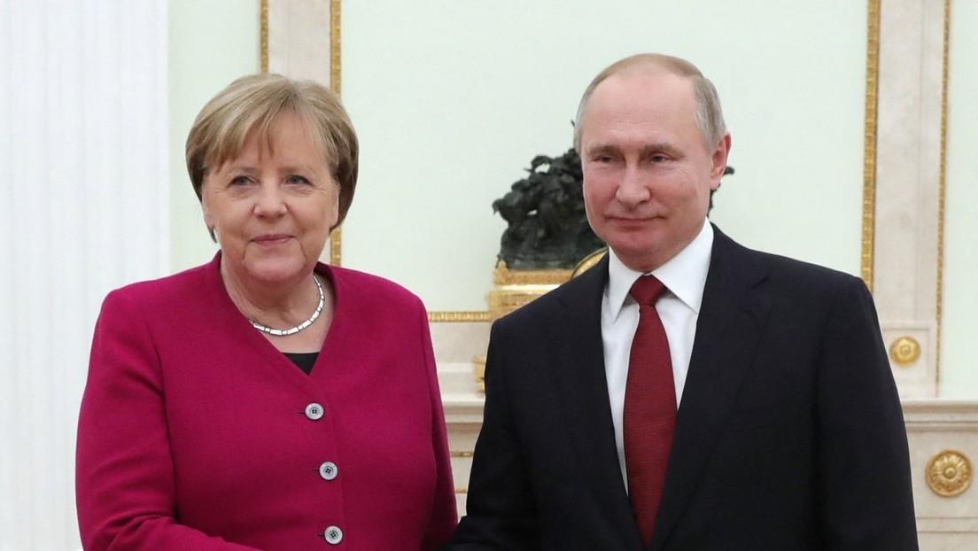 """Merkel informiert Putin über Einigung mit den USA: """"Durchbruch bei Nord Stream 2"""""""