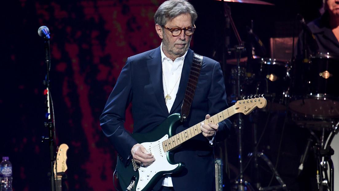 """""""Diskriminierend"""": Eric Clapton droht mit Absage von Konzerten an Orten, die Impfnachweis verlangen"""