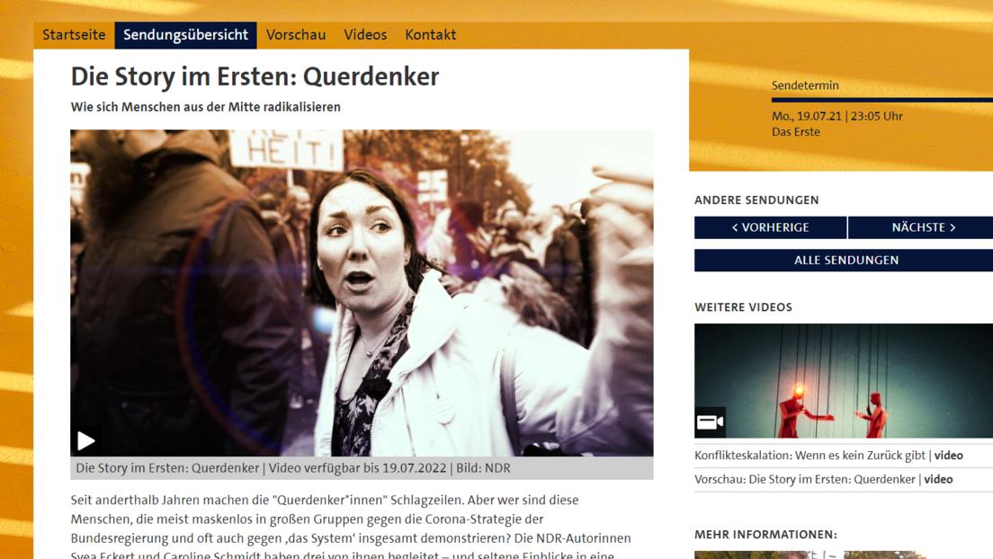 Screenshot https://www.daserste.de/information/reportage-dokumentation/dokus/sendung/querdenker-102.html