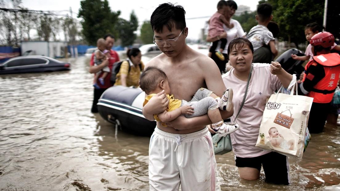 Tote und Vermisste bei schweren Überschwemmungen in chinesischer Metropole Zhengzhou