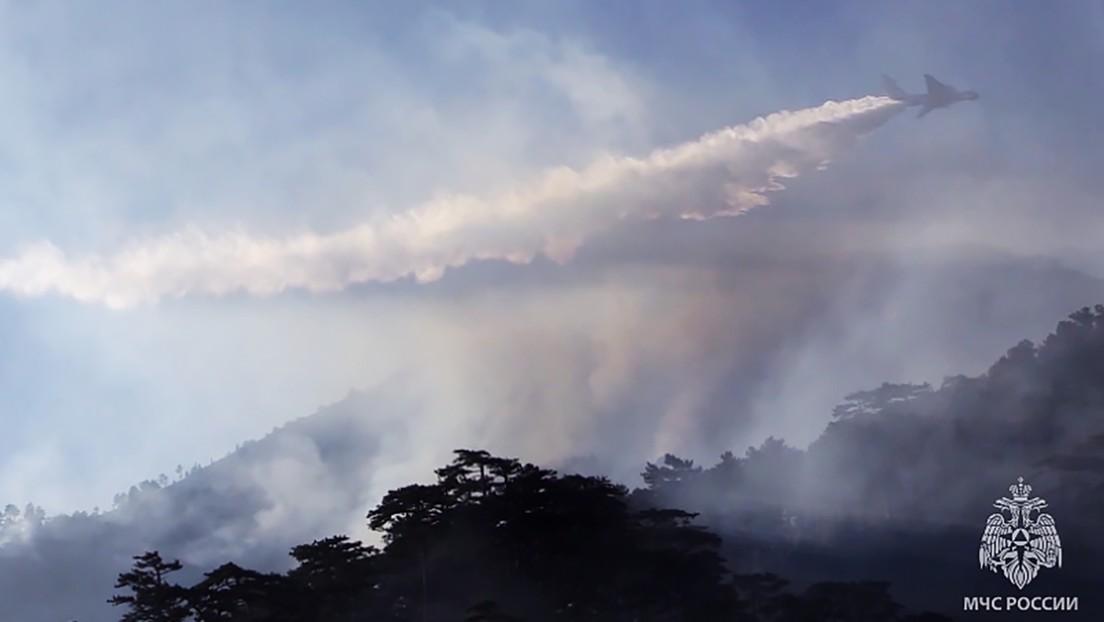 Russische Regenmacher gegen Waldbrände: Flugzeuge besprühen Wolken mit Silberjodid