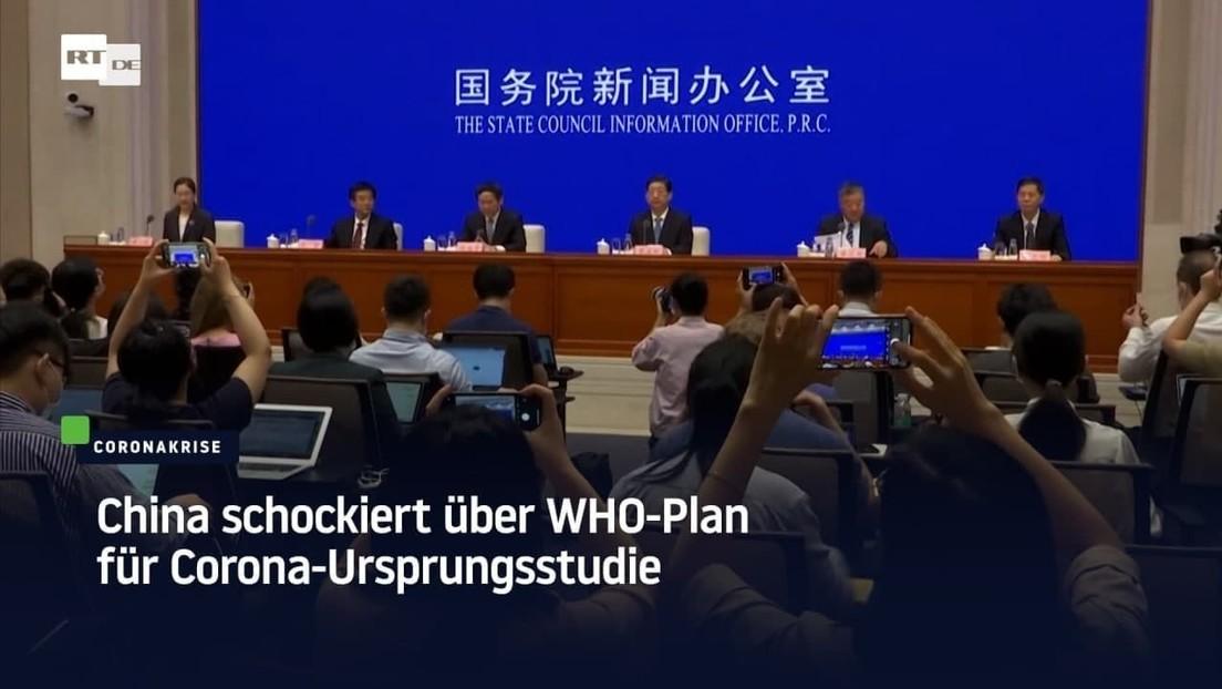 China schockiert über WHO-Plan für Corona-Ursprungsstudie