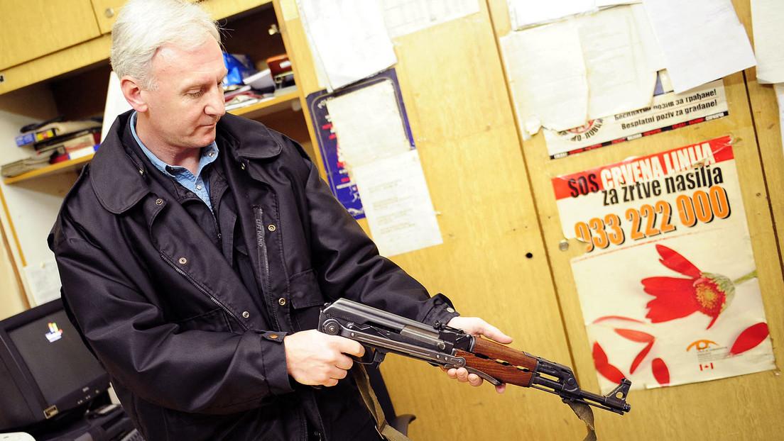 Waffen im Privatbesitz: Westbalkanländer an der Spitze Europas