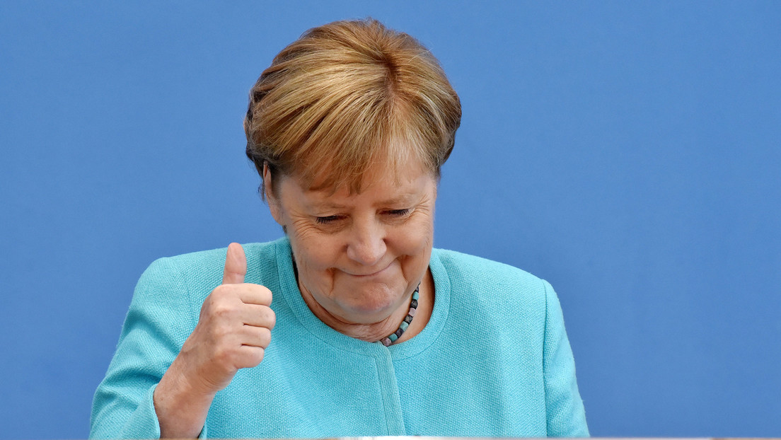 Merkels wahrscheinlich letzte Pressekonferenz: Corona-, Flüchtlings- und Klimakrise im Fokus