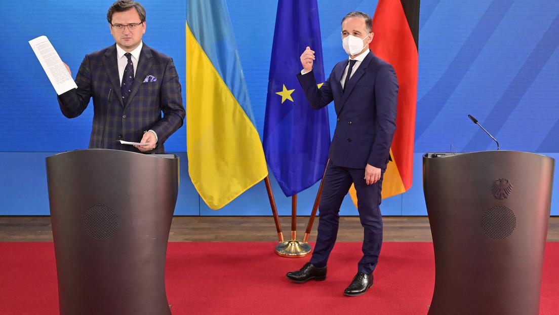 """""""Das schafft militärische Bedrohung"""" – Ukraine will auch nach Einigung gegen Nord Stream 2 kämpfen"""