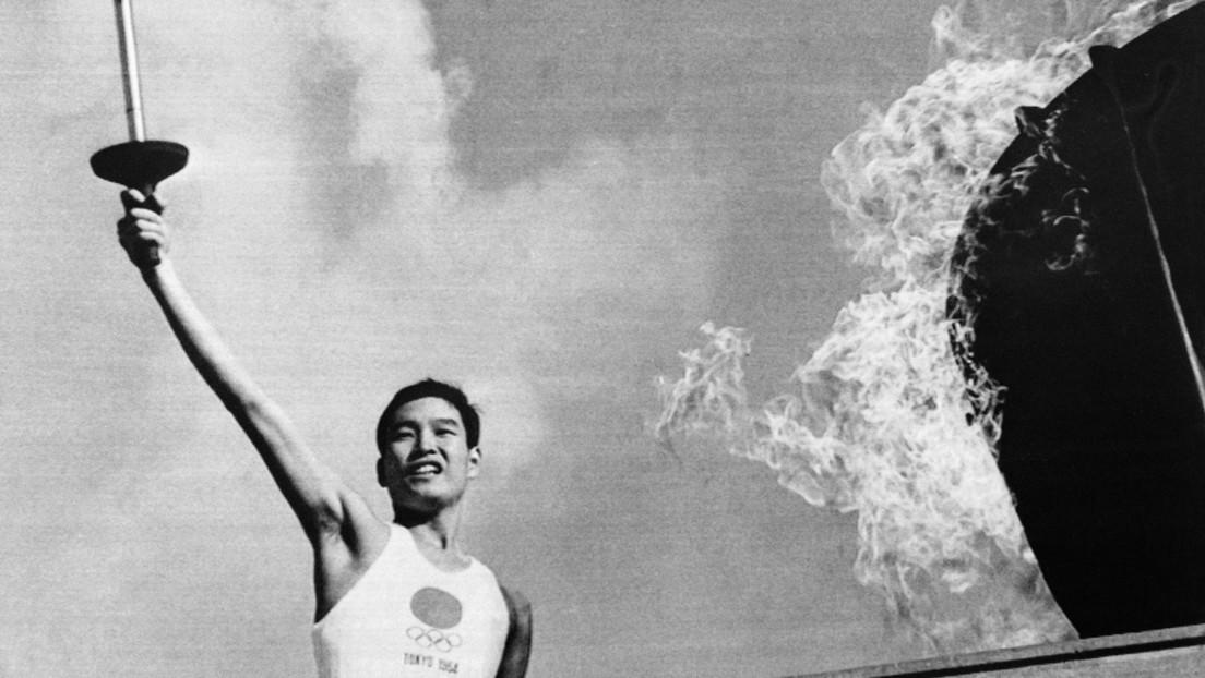 """""""Atomjunge"""": Früherer Olympia-Fackelträger in Tokio am Tag des Hiroshima-Atombombenabwurfs geboren"""