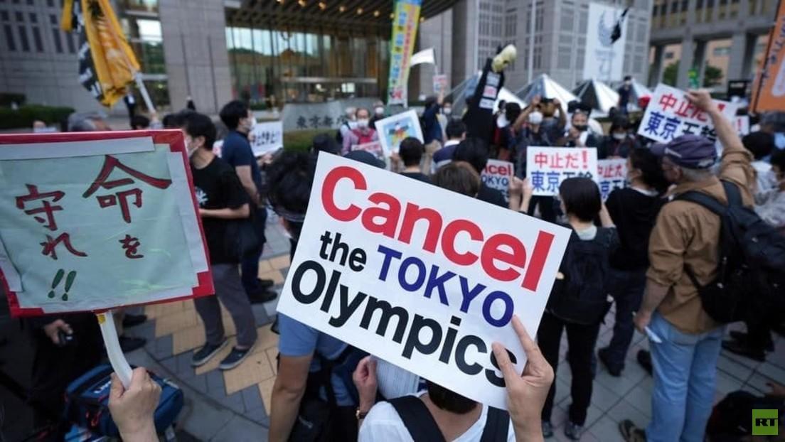 LIVE aus Tokio: Anti-Olympia-Demo am Eröffnungstag der Spiele