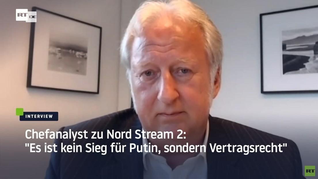 """""""Nord Stream 2 hilft, unsere Energiesouveränität aufrechtzuerhalten"""" – Chefanalyst Hellmeyer"""