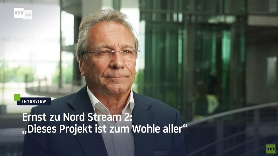 """Linken-Politiker Klaus Ernst zu Nord Stream 2: """"Russland nicht immer den schwarzen Peter zuschieben"""""""