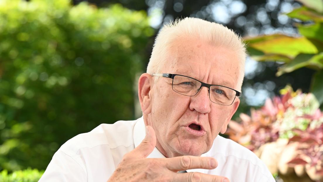 Grüne: Winfried Kretschmann räumt in Interview Fehler im Wahlkampf ein